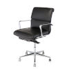 This item: Lucia Matte Black and Silver Office Chair