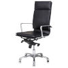 This item: Carlo Black and Silver High Back Office Chair