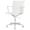 This item: Antonio White and Silver Office Chair