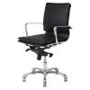 This item: Carlo Black and Silver Office Chair