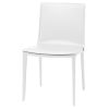 This item: Palma White Dining Chair