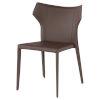 This item: Wayne Dark Brown Dining Chair