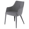 This item: Renee Gray Dining Chair