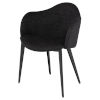 This item: Nora Coal Dining Chair