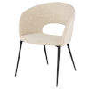 This item: Alotti Beige and Black Dining Chair