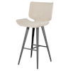 This item: Astra Beige and Black Bar Stool