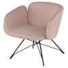 This item: Doppio Mauve and Black Occasional Chair