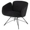 This item: Doppio Coal Occasional Chair