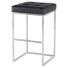 This item: Chi Black and Silver Bar Stool