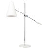 This item: Tivat White and Silver One-Light Table Lamp
