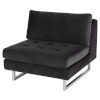 This item: Janis Shadow Gray Sofa Extension