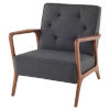 This item: Eloise Black and Brown Occasional Chair