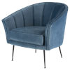 This item: Aria Dusty Blue Occasional Chair