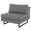 This item: Janis Gray Sofa Extension