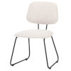 This item: Ofelia White and Black Dining Chair