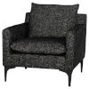 This item: Anders Black Occasional Chair