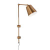 This item: Urma Brushed Gold One-Light Wall Sconce