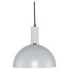 This item: Rosie Mini Concrete Gray and Black One-Light Pendant