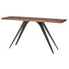 This item: Vega Brown and Black Console Table