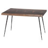 This item: Nexa Brown and Black Side Table