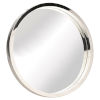 This item: Julia Polished Silver Wall Mirror