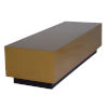 This item: Asher Brushed Gold Coffee Table
