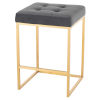 This item: Chi Gold and Gray Counter Stool