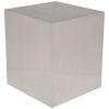 This item: Caldo Brushed Silver Side Table