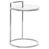This item: Lily Brushed Silver Side Table
