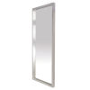 This item: Glam Polished Silver Floor Mirror