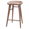 This item: Kami Walnut Counter Stool
