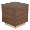 This item: Ben Walnut Side Table