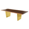 This item: Aiden Matte Seared 78-Inch Dining Table