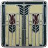 This item: Antique Pewter/Evergreen Prairie Tulips Knob