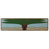 This item: Antique Brass/Pale Blue (Horizontal) Royal Palm Pull