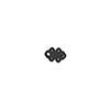This item: Black Nickel Granada Knob