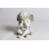 This item: Antique Stone Fiberglass Peekaboo Cherub Figurine