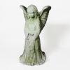 This item: White Moss Fiberstone Angel Wings Large Planter