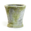 This item: White Moss Fiberstone Haven Small Pot