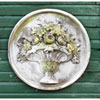 This item: White Moss Flower Bouquet Plaque