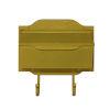 This item: Asbury Yellow Horizontal Mailbox