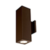 This item: Cube Architectural Bronze 6-Inch Two-Light 3500K LED 85 CRI 7263 Lumens Wall Light with 40  Degree Beam Spread