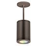 This item: Tube Architectural ilumenight Bronze LED 90 CRI Outdoor Pendant with 15  Degree Beam Spread