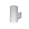 This item: Tube Architectural White Two-Light 3000K LED 85 CRI Wall Light with 25  Degree Beam Spread