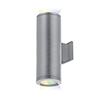 This item: Tube Architectural ilumenight Graphite Two-Light LED 90 CRI Wall Light with 25  Degree Beam Spread