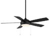 This item: Disc Matte Black 52-Inch LED Ceiling Fan