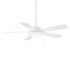 This item: Disc Matte White 52-Inch LED Ceiling Fan
