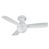 This item: Orb Matte White 44-Inch Ceiling Fan