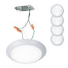 This item: Disc White Seven-Inch LED ADA Outdoor Flush Mount, Pack of 4