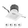 This item: Pop-in White Nine-Inch LED ADA Recessed Downlight, Pack of 4